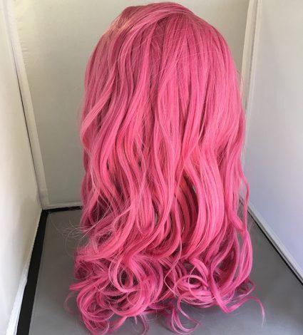 Caduceus wig back view