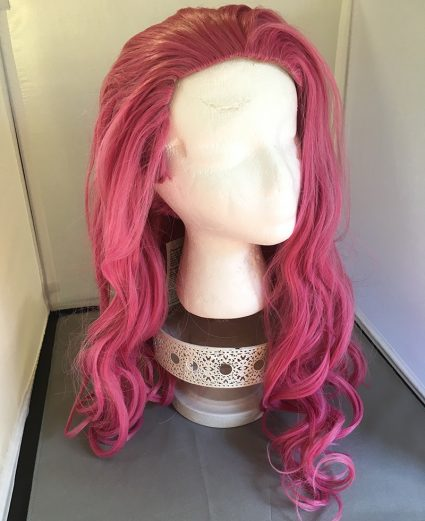 Caduceus wig hair down
