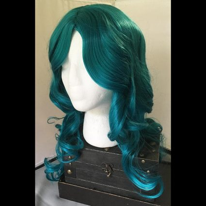 Michiru cosplay wig ¾th view