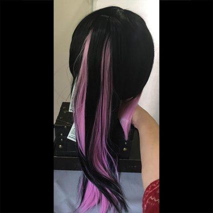 Yukio cosplay wig back view