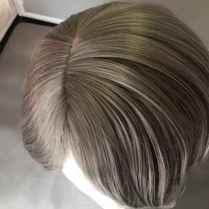 Kirumi cosplay wig top view