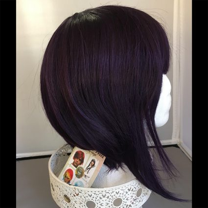 Kyoka cosplay wig side view 2