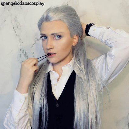 Victor cosplay by @angelicdazecosplay