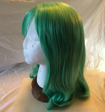Ms Joke Wig Side View