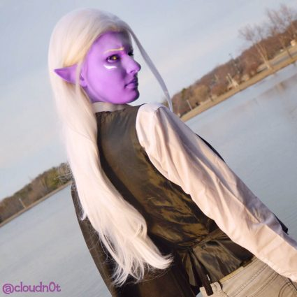 Lotor cosplay by @cloudn0t