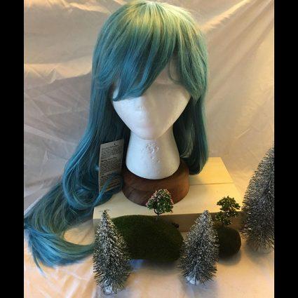 Hilda cosplay wig
