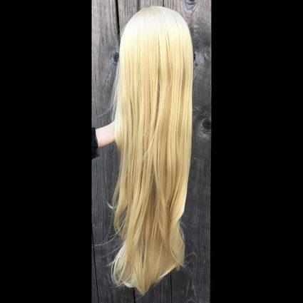 She-Ra cosplay wig back view
