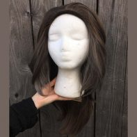Catra cosplay wig