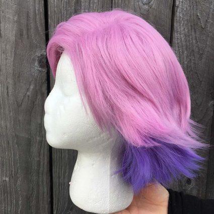 Glimmer wig side