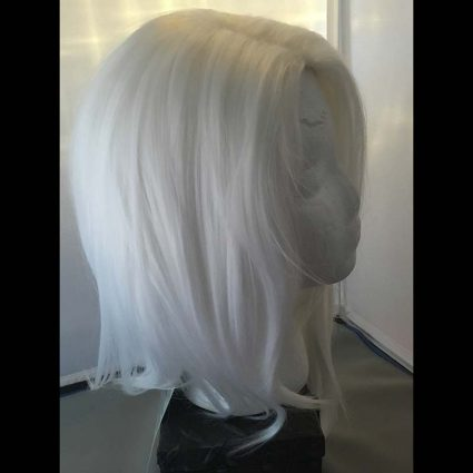Ashe cosplay wig side view 2