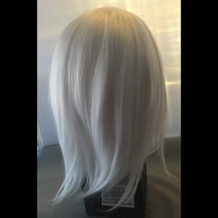 Ashe cosplay wig back view