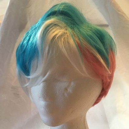 short trans wig
