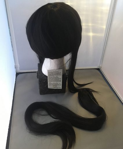 Samurai base wig back