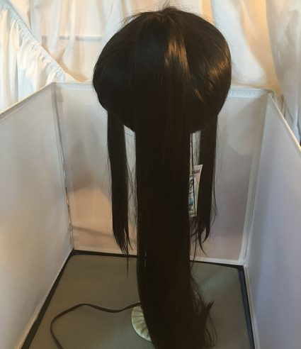 Samurai wig back view