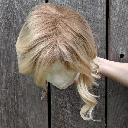 Gwen cosplay wig top view