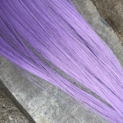 "extra long weft in ""science purple"""