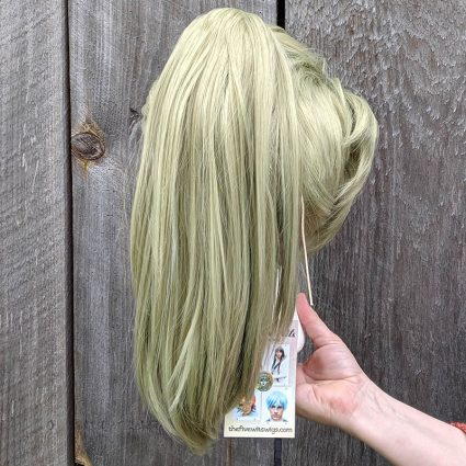 Prom Zombie cosplay wig back view