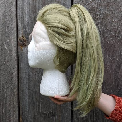 Prom Zombie cosplay wig side view