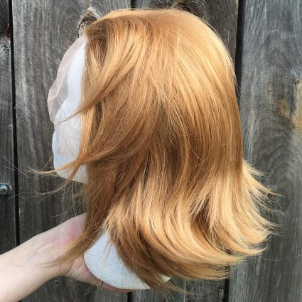 Sypha cosplay wig side view