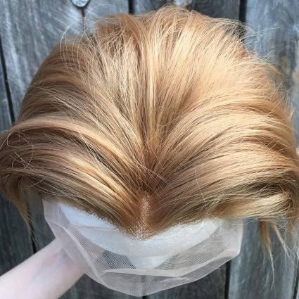 Sypha cosplay wig top view