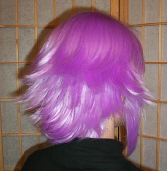 Crona cosplay wig back view