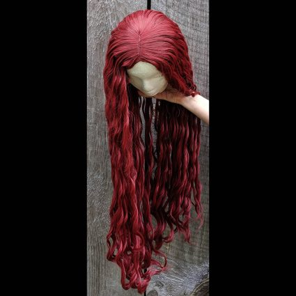 Janai cosplay wig top view