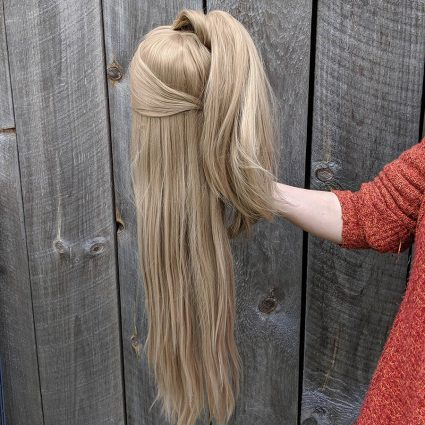 Katori cosplay wig back view