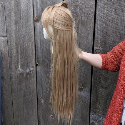 Katori cosplay wig left view