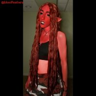 Minthe cosplay by @bloodfeatherz