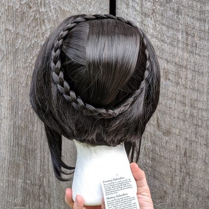 Sarai cosplay wig back view