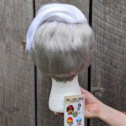 Scorpia cosplay wig back view