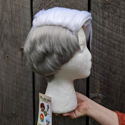 Scorpia cosplay wig right side view