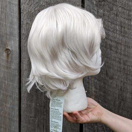 Asra cosplay wig side view