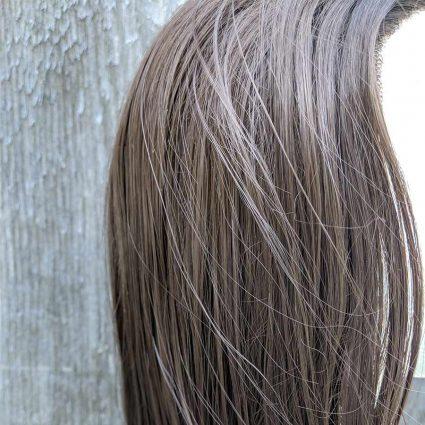 Kanan cosplay wig close-up view