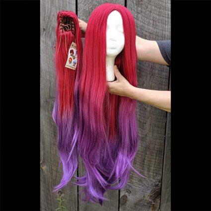 Nadia cosplay wig clip view