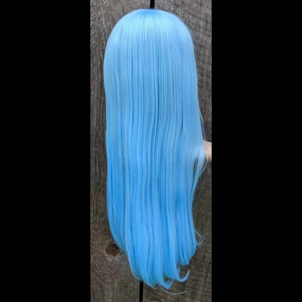 Rimuru cosplay wig back view