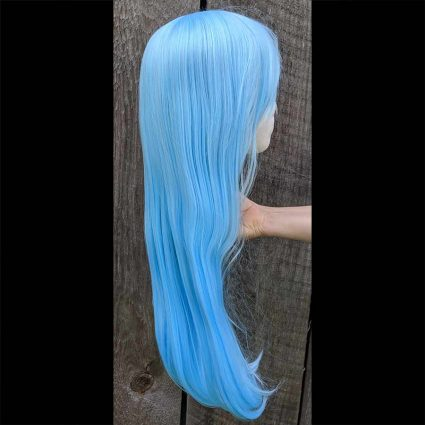 Rimuru cosplay wig side view