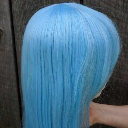 Rimuru cosplay wig side view 2