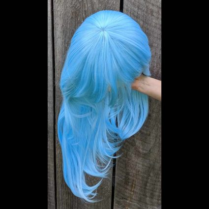 Rimuru cosplay wig top view