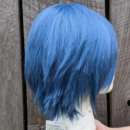 Souei cosplay wig side view