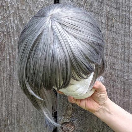 Yuki cosplay wig top view
