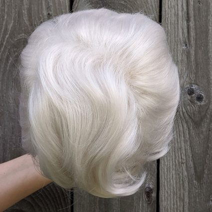 Percy cosplay wig top view