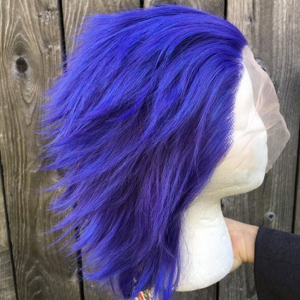 Shinso cosplay wig side view