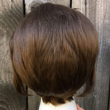 SPN cosplay wig back view
