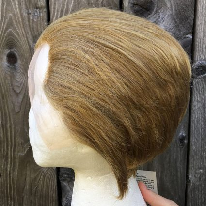 Steve cosplay wig side view