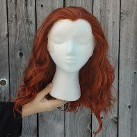 Crowley cosplay wig