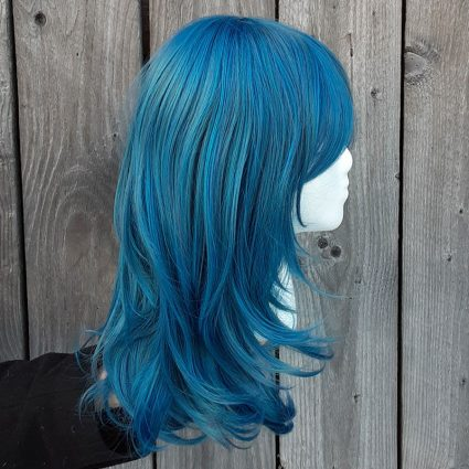 fem!Byleth cosplay wig side view