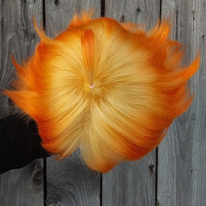 Emma cosplay wig top view