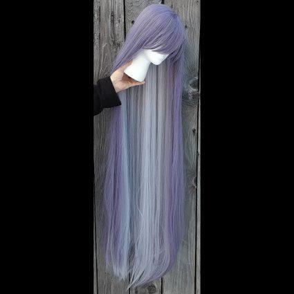 Jakurai cosplay wig undercolor view