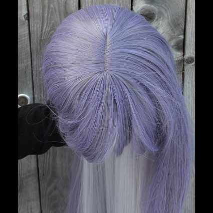 Jakurai cosplay wig top view